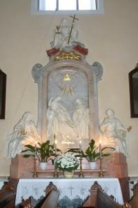 Boční oltář - pravý