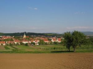 Nivnice - panorama z Hůrky
