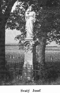 Socha sv. Josefa